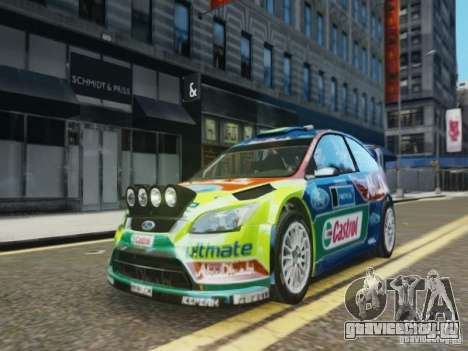 Ford Focus RS WRC для GTA 4