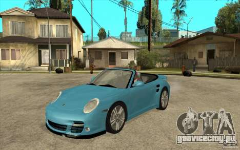Porsche 911 Cabriolet 2010 для GTA San Andreas