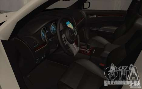 Chrysler 300C для GTA San Andreas вид сзади