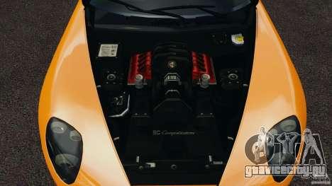 Alfa Romeo 8C Competizione для GTA 4 вид сбоку