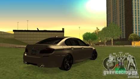 Спидометр ВАЗ 2110 для GTA San Andreas второй скриншот
