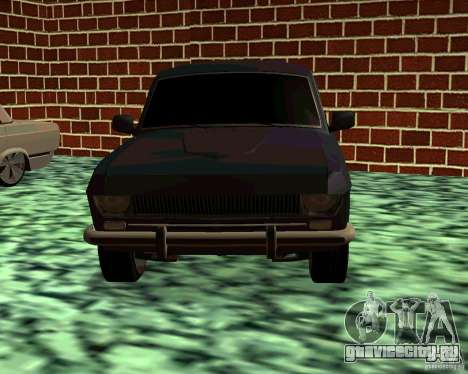 ГАЗ 24 v3 для GTA San Andreas вид сзади