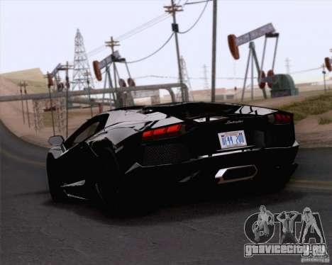 Lamborghini Aventador LP700-4 2011 для GTA San Andreas вид слева
