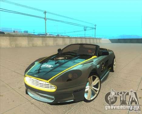 Aston Martin DBS Volante 2009 для GTA San Andreas вид сбоку