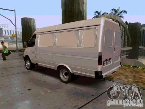 ГАЗель 2705 1994 для GTA San Andreas вид слева