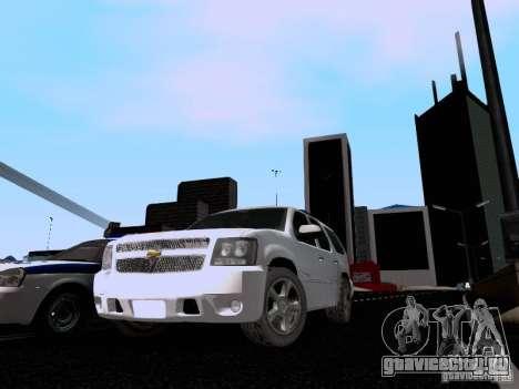 Chevrolet Tahoe LTZ 2013 для GTA San Andreas вид слева
