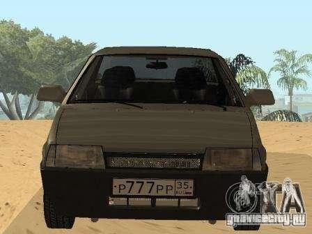 ВАЗ 21099 Летняя для GTA San Andreas вид справа