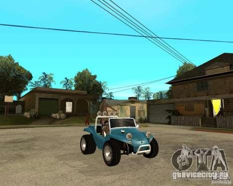 Volkswagen Dune Buggy для GTA San Andreas вид справа