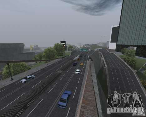 Новые дороги для GTA San Andreas третий скриншот