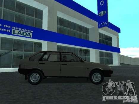 ВАЗ 2109 CR v.2 для GTA San Andreas вид слева