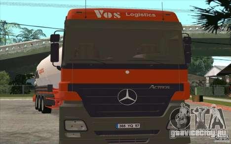 Mercedes-Benz Actros для GTA San Andreas вид слева