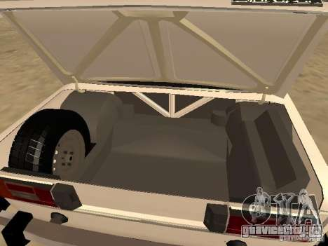ВАЗ 21063 для GTA San Andreas вид справа
