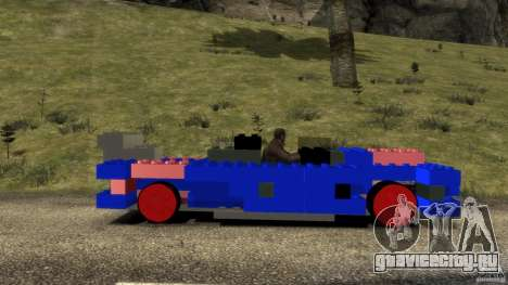 LEGOCAR для GTA 4 вид слева