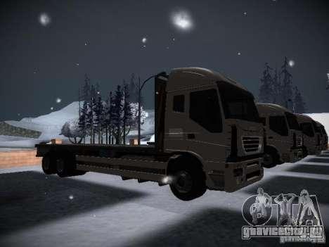 Iveco Stralis Long Truck для GTA San Andreas вид справа