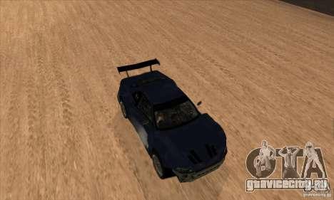 Nissan Skyline R34 GT-R LM для GTA San Andreas вид сверху