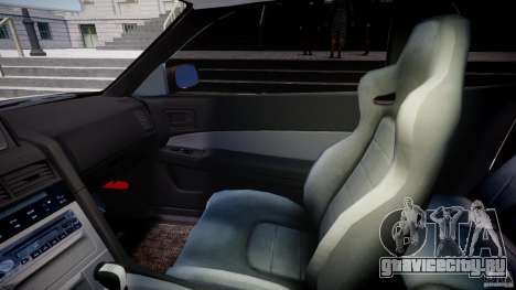 Nissan Skyline GT-R 34 V-Spec для GTA 4 вид изнутри