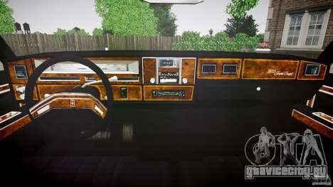 Lincoln Continental Town Coupe v1.0 1979 [EPM] для GTA 4 вид сзади