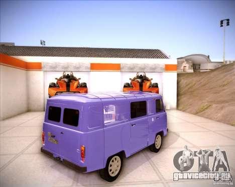 УАЗ 37419-210 для GTA San Andreas вид справа