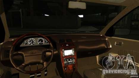 Infiniti I30 A32 Kouki для GTA San Andreas вид изнутри