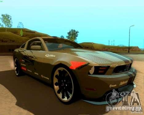 Ford Mustang Boss 302 2011 для GTA San Andreas двигатель