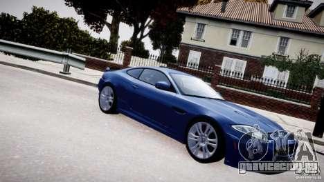 Jaguar XKR-S 2012 для GTA 4 вид сверху