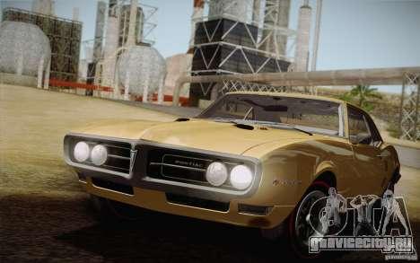 Pontiac Firebird 400 (2337) 1968 для GTA San Andreas вид сбоку