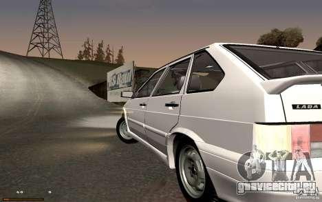 ВАЗ 2114 Quality для GTA San Andreas вид слева