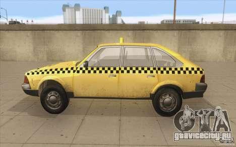 АЗЛК 2141 Москвич Такси v2 для GTA San Andreas вид слева