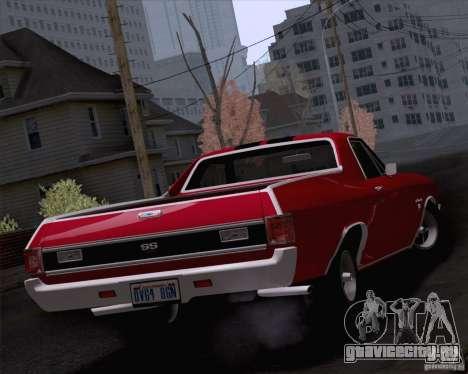 Chevrolet El Camino SS 70 Fixed Version для GTA San Andreas вид слева