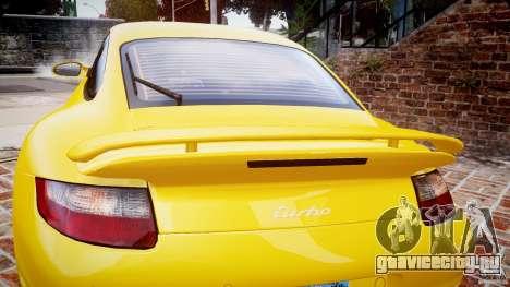 Porsche 911 (997) Turbo v1.0 для GTA 4 вид сверху