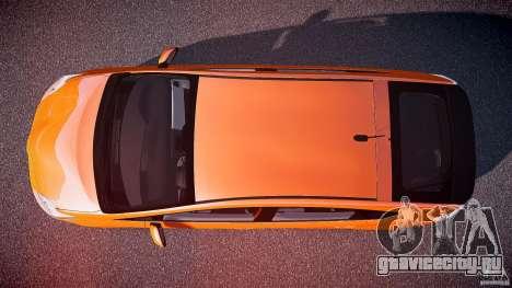 Toyota Prius 2011 для GTA 4 вид справа