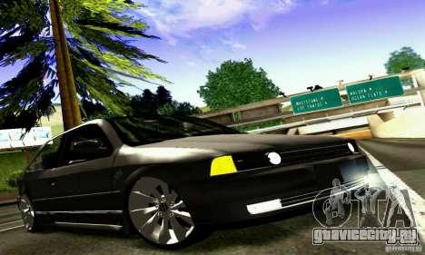 Volkswagen GOL G2 Tuning для GTA San Andreas вид изнутри