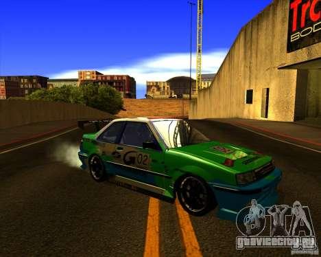 GTA VI Futo GT custom для GTA San Andreas вид сбоку