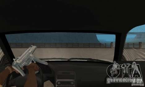 Acura NSX 1991 для GTA San Andreas вид сзади