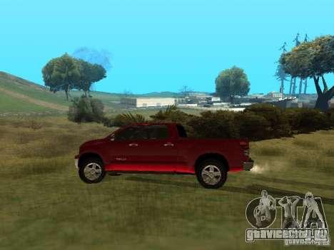 Toyota Tundra 2009 для GTA San Andreas вид слева