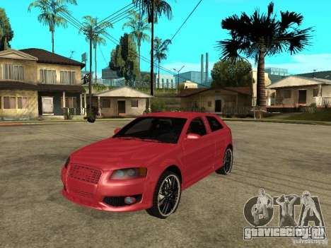 Audi S3 2006 Juiced 2 для GTA San Andreas