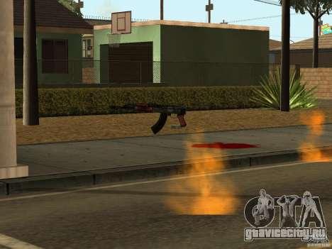 Отечественное оружие - версия 1.5 для GTA San Andreas восьмой скриншот
