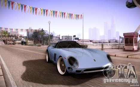 Ferrari 250 GTO 1964 для GTA San Andreas вид изнутри