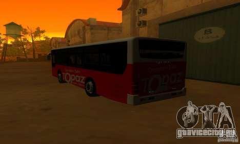 Daewoo Bus BC211MA для GTA San Andreas вид справа