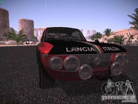 Lancia Fulvia Rally для GTA San Andreas вид справа