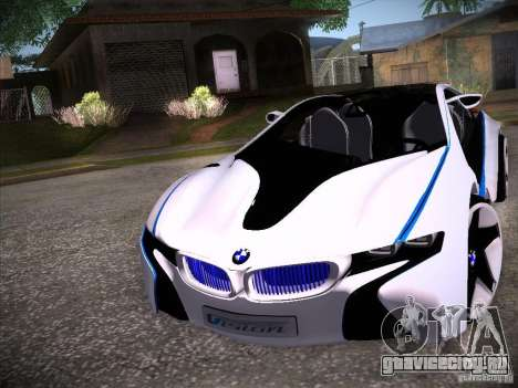 BMW Vision Efficient Dynamics I8 для GTA San Andreas вид слева