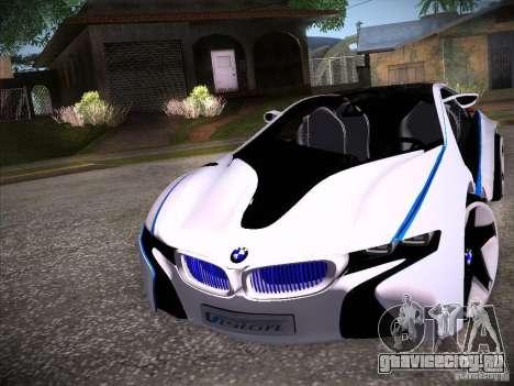 BMW Vision Efficient Dynamics I8 для GTA San Andreas вид слева
