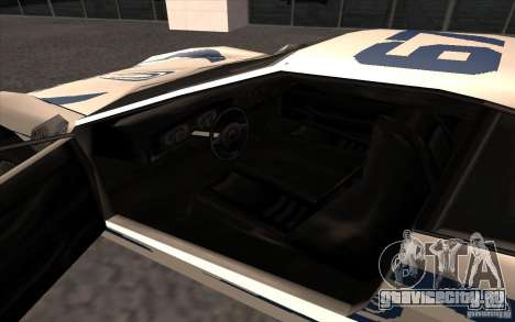 Новый Turismo для GTA San Andreas вид справа