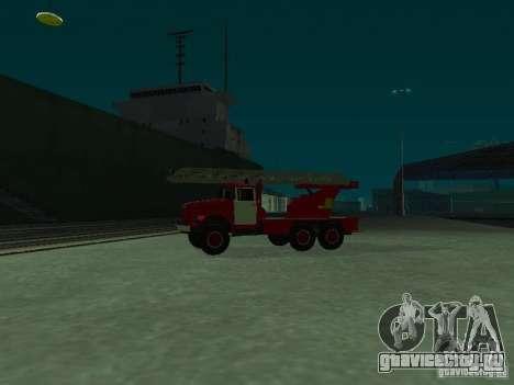 ЗиЛ 131 АЛ-30 для GTA San Andreas вид слева