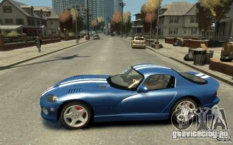 Dodge Viper GTS для GTA 4 вид слева