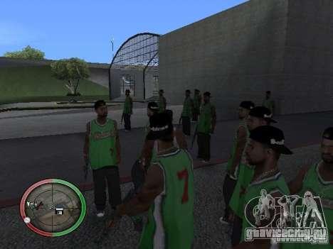 Дождь из людей для GTA San Andreas второй скриншот