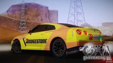 Nissan GTR R35 Tunable v2 для GTA San Andreas вид справа