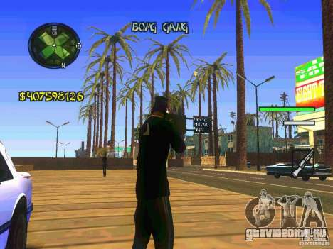 HUD Convenient and easy BETA для GTA San Andreas второй скриншот