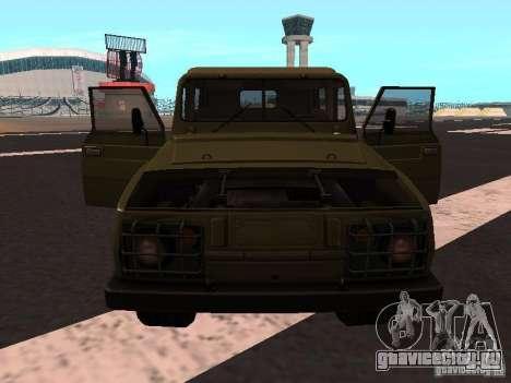 УАЗ-3907 Ягуар для GTA San Andreas вид слева
