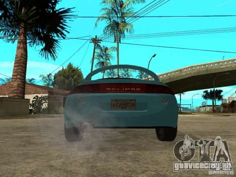 Mitsubishi Eclipse 1998 Need For Speed Carbon для GTA San Andreas вид сзади слева